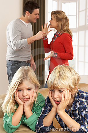 Free Parents Having Argument At Home Stock Photo - 18915870