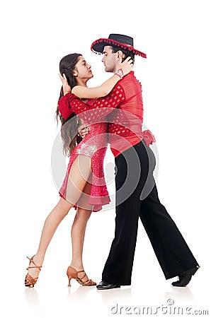 Pares de bailarines