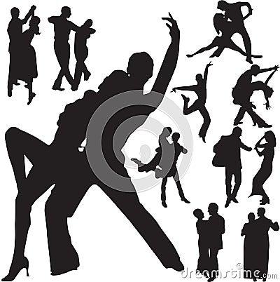 Pares de la danza