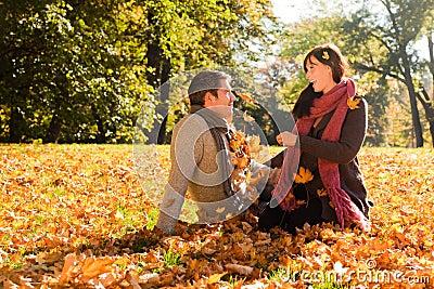 Pares do outono