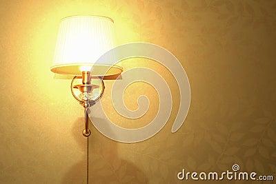 Parete Luminosa Dellindicatore Luminoso Della Lampada ...