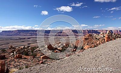 Paria Kanjon-Vermilion klippavildmark, Utah, USA