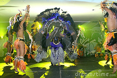 Parintins folklore festival in brazil Editorial Stock Photo