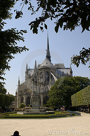 Free Paris 14, Notre Dame Cathedral Royalty Free Stock Photos - 841558