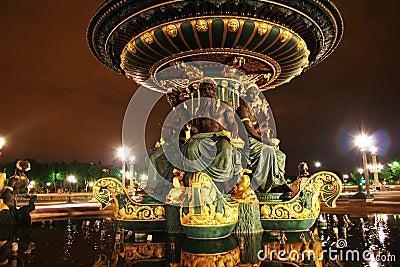 моря Франции paris фонтана