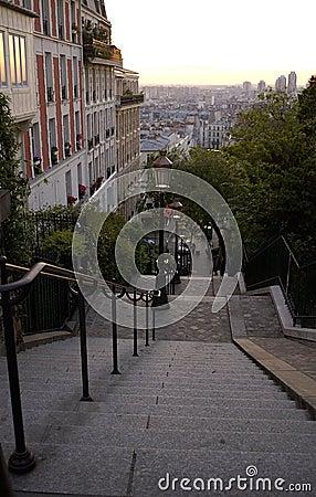 Free Paris 21, Montmatre Royalty Free Stock Photo - 843855