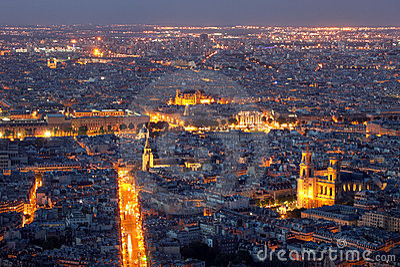 Paris aerial, France