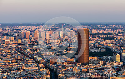 Paris- aerial view