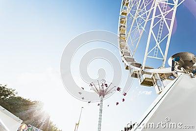 Paris amusement park Editorial Photography