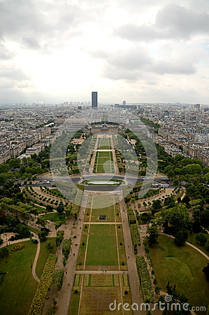 Paris-Antennenpanorama
