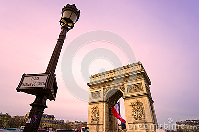 Paris, Arc de Triomphe