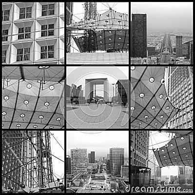 Free Paris - Arche De La Defense Stock Photography - 7165772