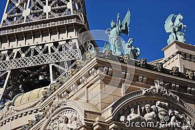 Paris architecture details