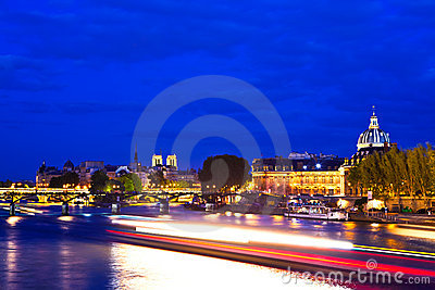 Paris at the Blue Hour