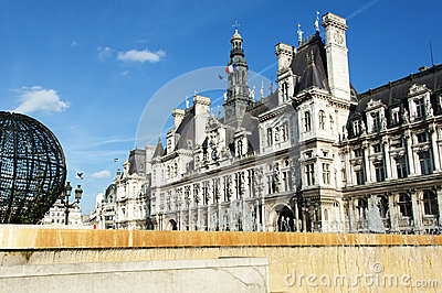 Paris - the city hall