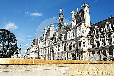 Paris - the city hall