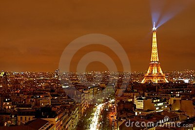 Paris City View Editorial Image