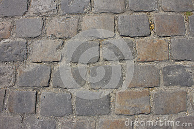 Paris Cobblestone Leading to the Sacre Coeur