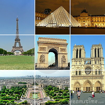 Free Paris Collage 1 Stock Photography - 4360602