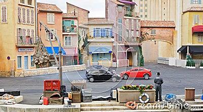 Paris - Disney Studios, Stunt Cars Editorial Stock Image