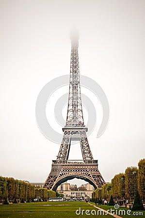 Paris, Eiffel Tower. Frog