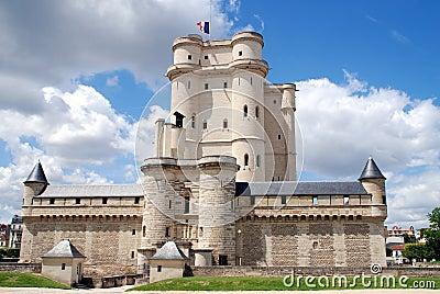 Paris, France: Château de Vincennes