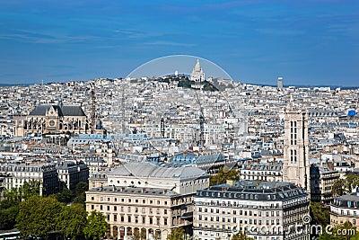 Paris, France. Sacre-Coeur Basilica