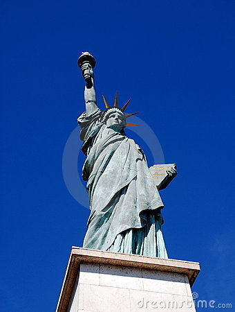 Paris, France: Statue of Liberty Replica