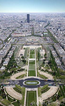 Paris from a height