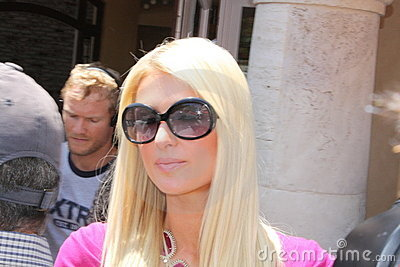 Paris Hilton Editorial Stock Photo