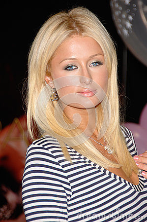 Paris Hilton Editorial Stock Image