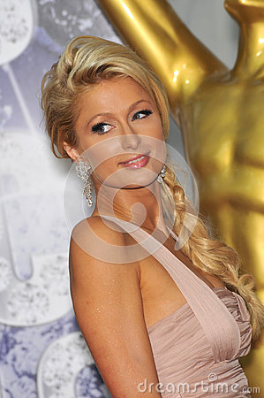 Paris Hilton Editorial Image