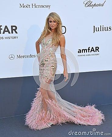 Paris Hilton Editorial Photo