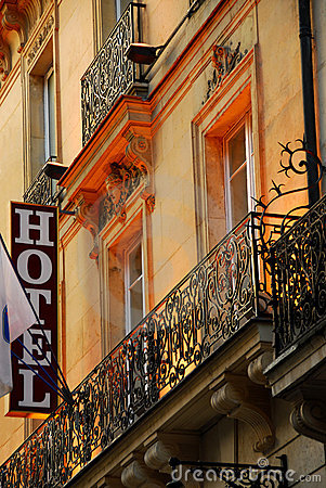 Free Paris Hotel Stock Photo - 1727210