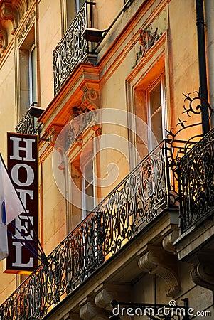 Free Paris Hotel Stock Photo - 1727210