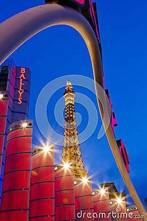 Paris Hotel & Casino Editorial Photography