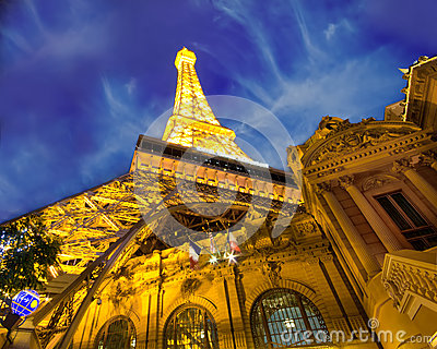 Paris Hotel Las Vegas Editorial Stock Photo