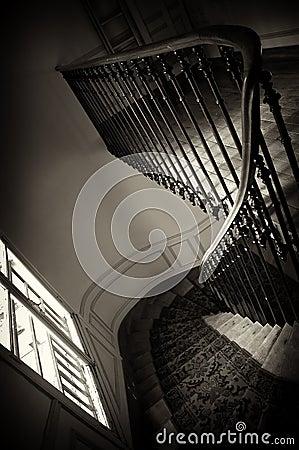 Paris house stairs