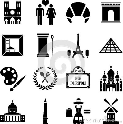 Paris icons