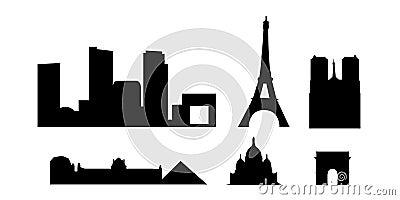 Paris landmarks and monuments