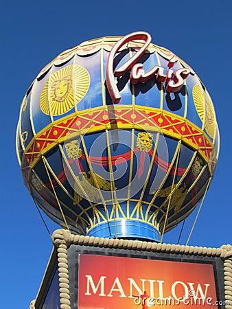 Paris,Las Vegas Editorial Photo