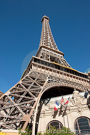 Paris Las Vegas hotel & casino Editorial Photo