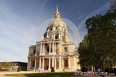 Paris, Les Invalides, famous landma