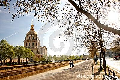 Paris, Les Invalides, famous landmark