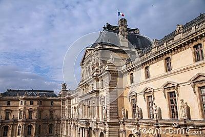 Paris - Louvre Editorial Photo