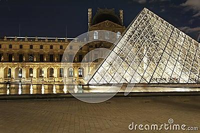Paris - the Louvre Editorial Image