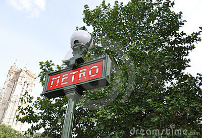 The Paris Metro Editorial Image
