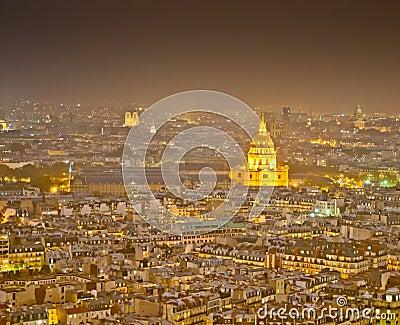 Paris nachts