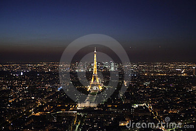 Paris by night Editorial Photography