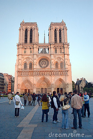 Paris-Notre Dame Editorial Stock Image